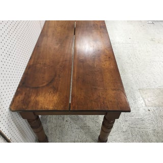 Antique English Farm Table Preview