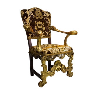Early 19th Century Vintage Italian Chair For Sale
