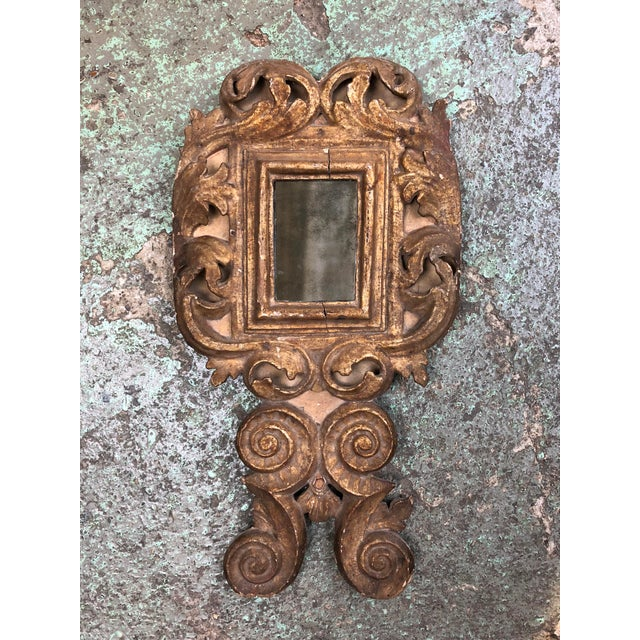 18th Century Small Italian Mirror For Sale - Image 13 of 13