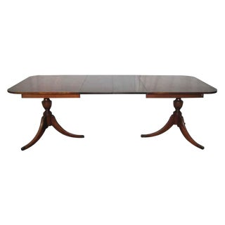 20th Century Traditional Duncan Phyfe Extendable Table For Sale