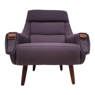 1970s Vintage Danish Armchair by Henry Walter Klein For Sale