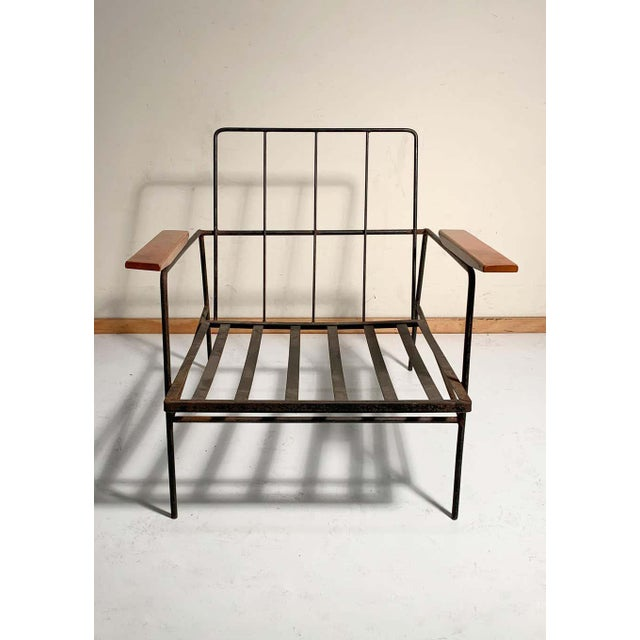 Mid-Century Modern Vintage Modern Richard McCarthy Lounge Chair Frames- a Pair For Sale - Image 3 of 7