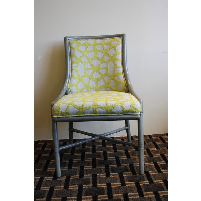 Contemporary McGuire Laura Kirar Passage Dining Side Chair For Sale - Image 3 of 7