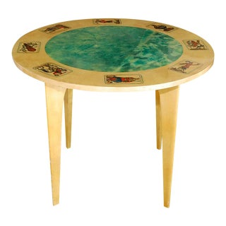 Aldo Tura Game Table For Sale