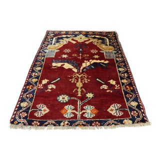 Mid 20th Century Turkish Rug- 2′11″ × 3′9″ For Sale