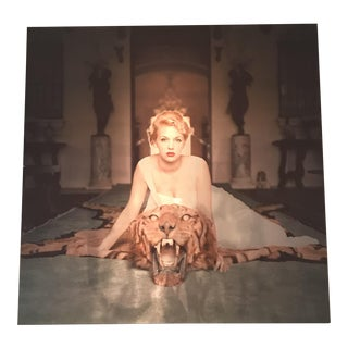 "Slim Aarons ""Beauty and the Beast"" Large Aluminum Print"