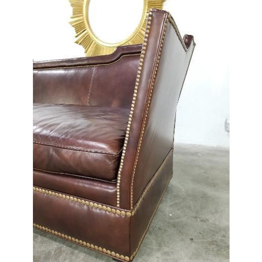 Leather Sofa by Ferguson Copeland For Sale - Image 11 of 13