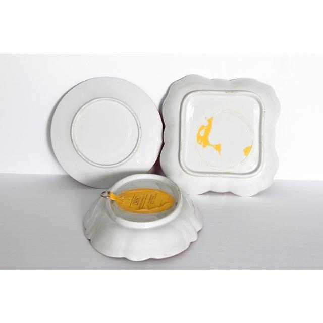 Gold Chamberlain's Worchester, Flight, Barr and Barr Porcelain Dessert Service For Sale - Image 8 of 11