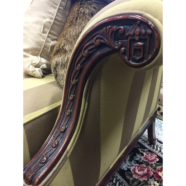 Thomas Chippendale 1920's Baker Chippendale Sofa For Sale - Image 4 of 11