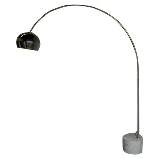 Mid-Century Italian Arc Floor Lamp For Sale
