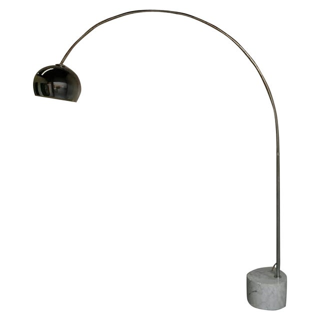 Mid-Century Italian Arc Floor Lamp - Image 1 of 3