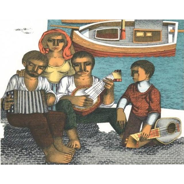 Figurative 1970s Jorge Dumas Festejo Figural Lithograph For Sale - Image 3 of 5