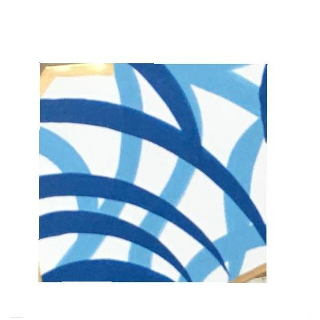 Add a pop to your room. This tonal blue lantern connotes an easy breezy style. For a tropical flair, hang two over a...