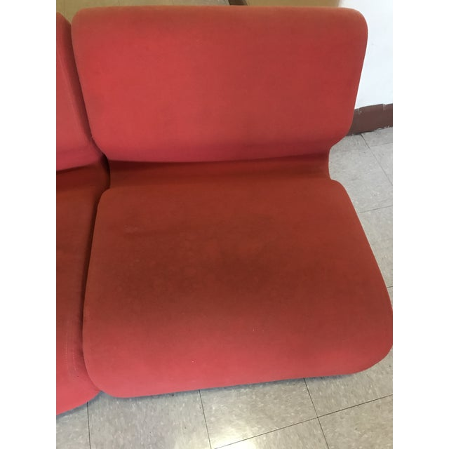 Orange Herman Miller Chadwick Modular Seating For Sale - Image 5 of 11