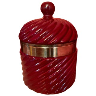 Tommaso Barbi Italian Ceramic Ice Bucket