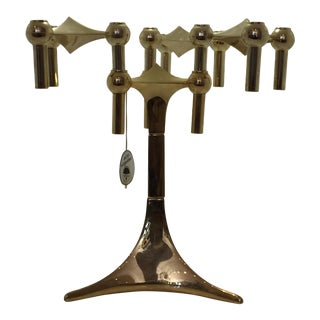 "Metal Stackable ""Nagel"" Candle Holders For Sale"
