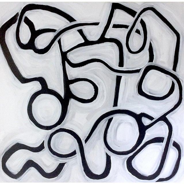 'La Bamba Original Abstract Painting by Linnea Heide - Image 1 of 8