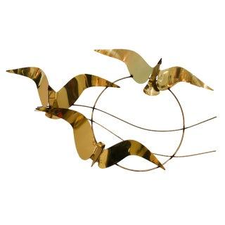 Mid Century Modern Jere Wall Sculpture of Birds