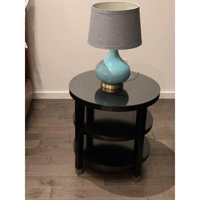 Art Deco Side Tables From Gumps - a Pair For Sale - Image 3 of 9
