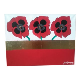 Red Poppies Painting For Sale