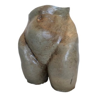 XL Pottery Butt Sculpture. Signed/Dated. For Sale