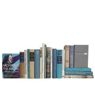 Vintage Blue Book Set : Nature Selections, S/20 For Sale