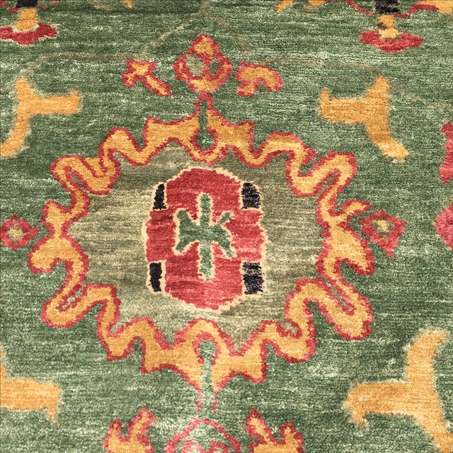 Large Handknotted Nepalese Rug - 9′ × 11′9″ - Image 6 of 11