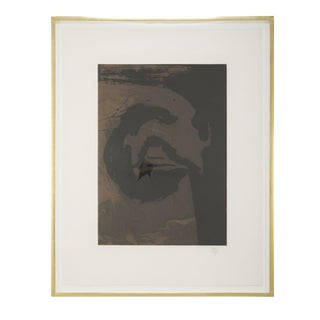 Primal Sign V (Copper) Aquatint and Etching by Robert Motherwell For Sale