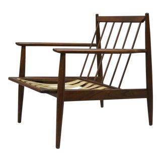 Baumritter Walnut Mid-Century Modern Lounge Club Chair