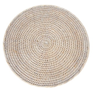 Artifacts Rattan Round Placemat For Sale