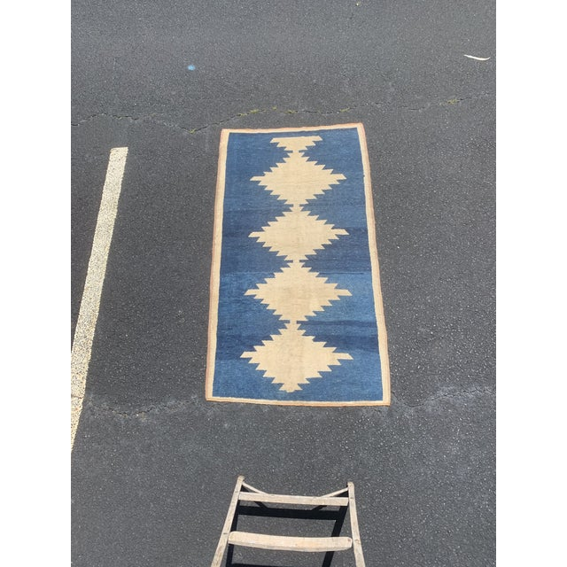 1950's Vintage Persian Gabbeh Tribal Rug- 3′1″ × 5′9″ For Sale - Image 11 of 11