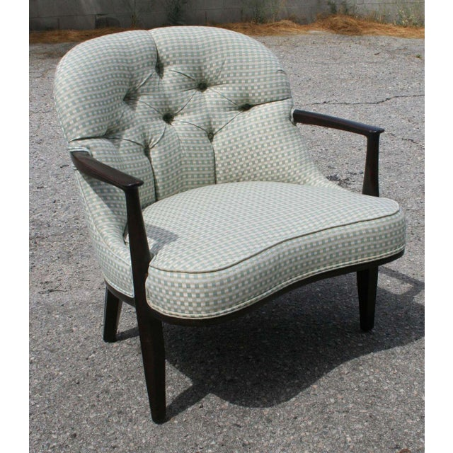 "Edward Wormley ""Janus"" Armchair for Dunbar - Image 10 of 11"