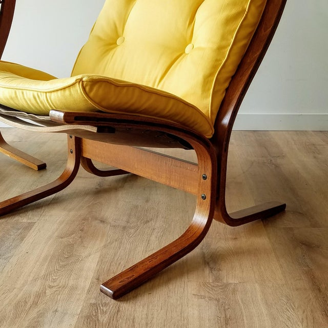"""1970s Ingmar Relling Newly Upholstered """"Seista"""" Chairs - a Pair For Sale In Seattle - Image 6 of 13"""