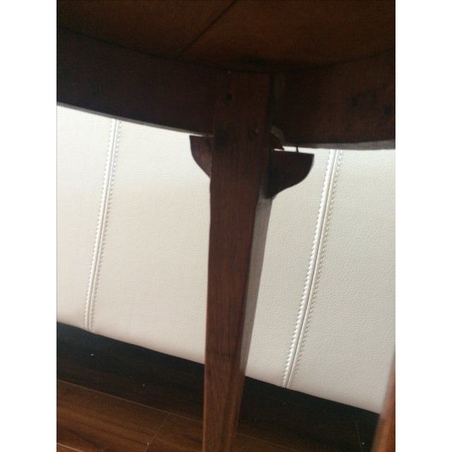 Vintage Inlaid Teak Accent Tables - A Pair - Image 7 of 7