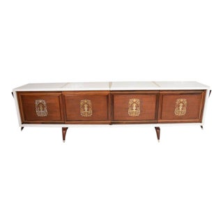 Stunning and Rare Mid-Century Modernist Custom Credenza, Mexico, 1950s