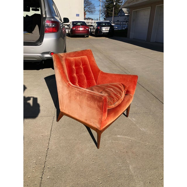 Modern Paul McCobb Lounge Chair Walnut For Sale - Image 3 of 10