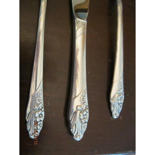Oneida Silver-Plate Flatware - Service for 12 ~ Excellent Condition - Image 5 of 11