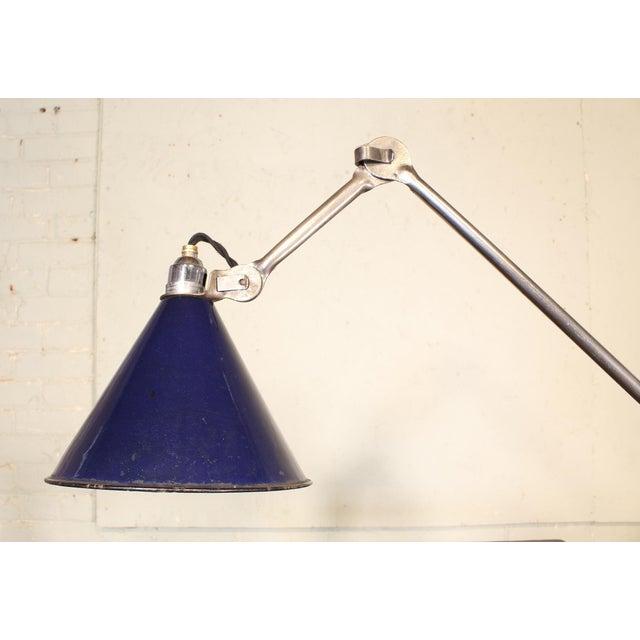 Industrial Bernard-Albin Gras No. 201 Clamp-On Lamp For Sale - Image 3 of 11