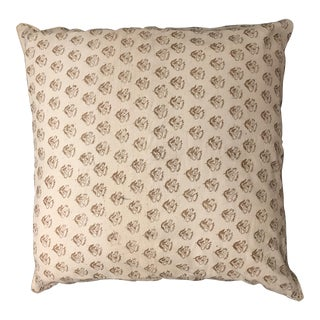 ABC Carpet & Home Handmade Ivory Throw Pillow