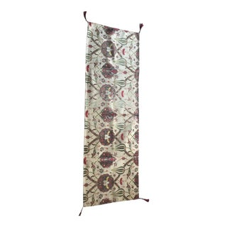 Authentic Kilim Patterned Table Runner For Sale