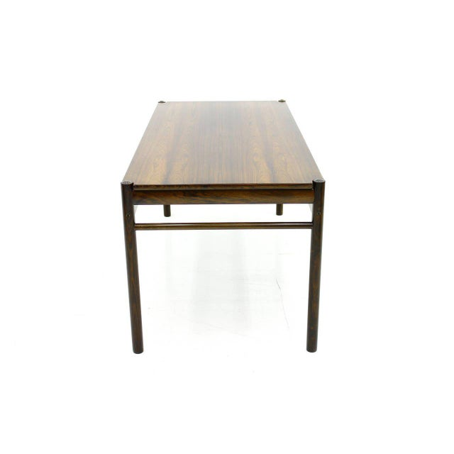 Flip-Top Coffee Table by Ole Wanscher for Jeppesen, Denmark, 1960 For Sale - Image 6 of 8