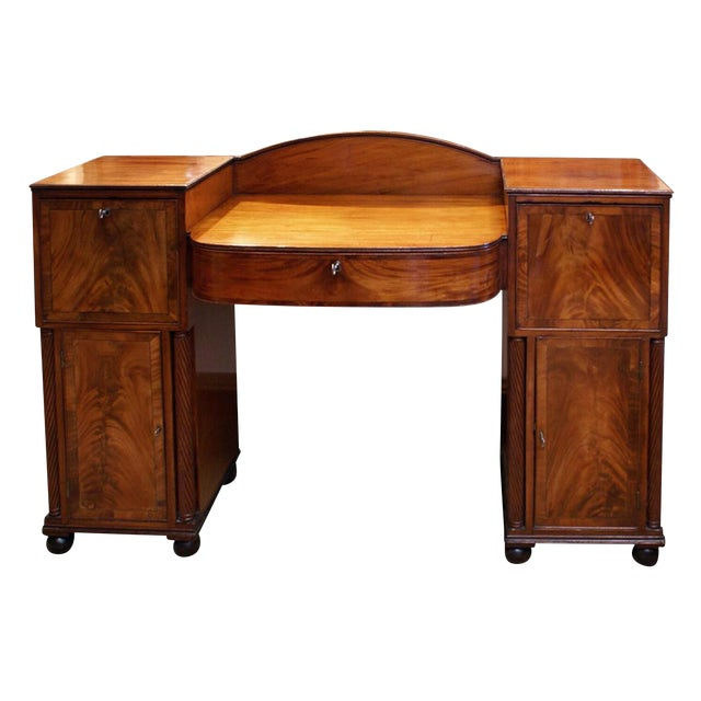 19th Century Regency Period Mahogany & Rosewood Sideboard For Sale