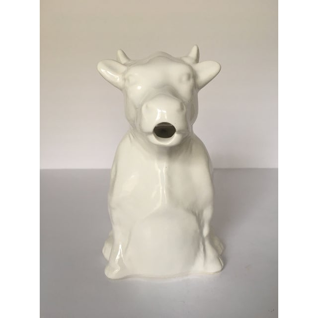 French Milk Cow Pitcher - Image 4 of 7