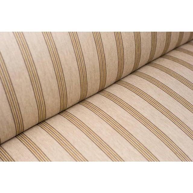 Textile Striped Wool Sofa Fritz Hansen, Denmark, 1940s For Sale - Image 7 of 10