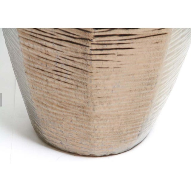 """Architectural Indoor Outdoor Oversize Planter Finished in Bronze 36"""" - Image 4 of 6"""