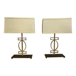 Anthropologie Gabby Home Annette Table Lamps - a Pair For Sale