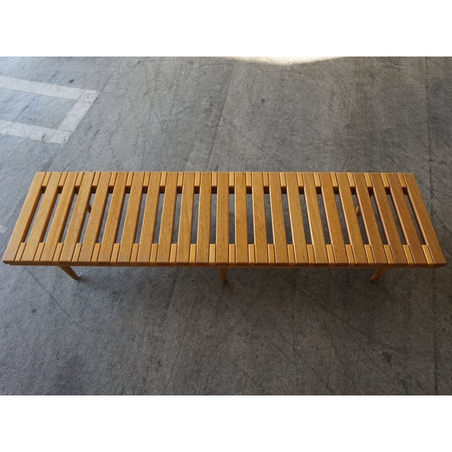 John Keal for Brown Saltman Low Bench Table - Image 4 of 6