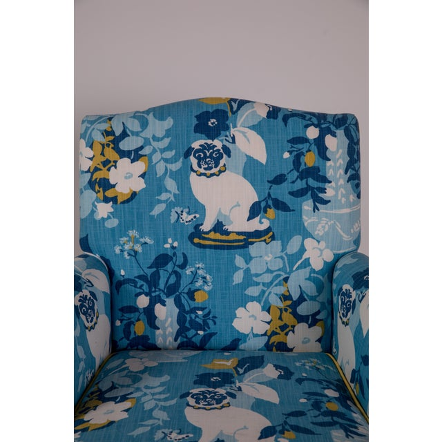 Vintage Mid Century Madcap Cottage Pug Chair For Sale In Greensboro - Image 6 of 11