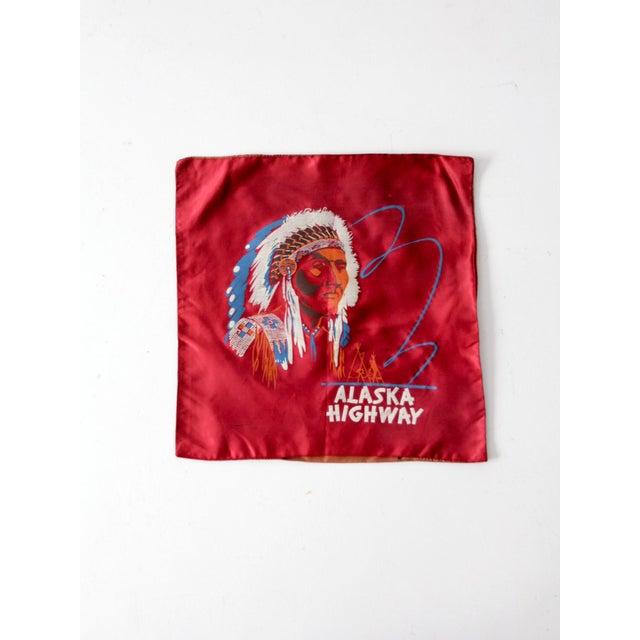 American 1950s USA Souvenir Pillowcase For Sale - Image 3 of 5
