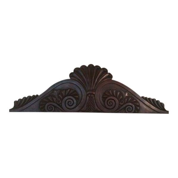 Image of Antique 19th Century English Pediment